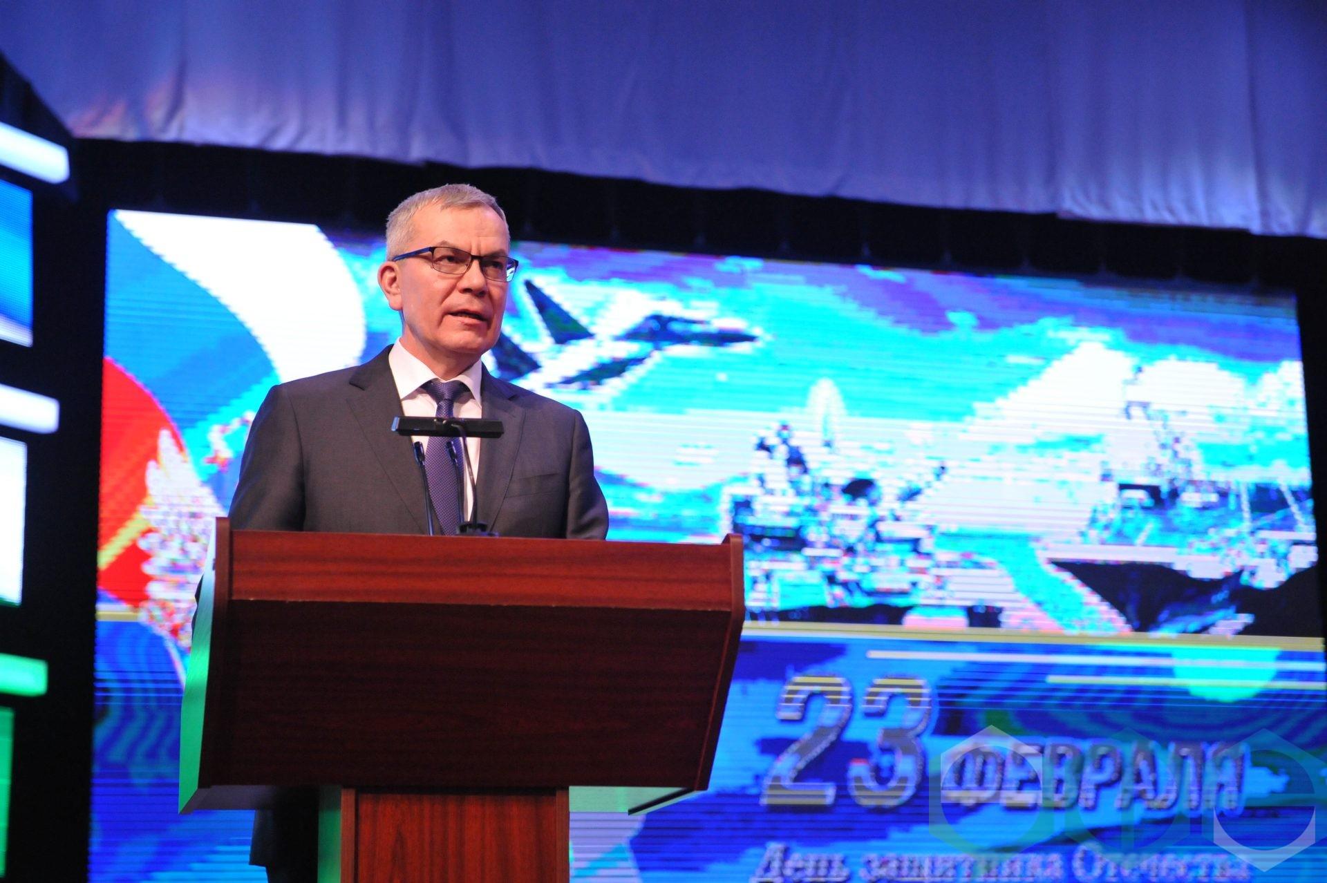 В Уфе состоялось торжественное мероприятие в честь Дня защитника Отечества