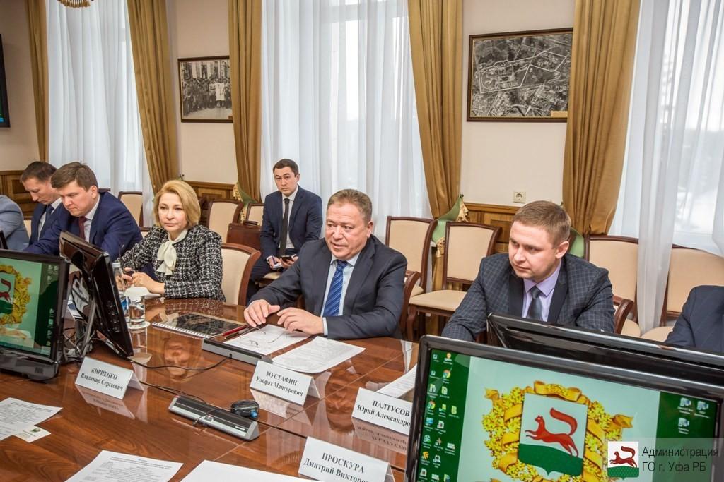 Ульфат Мустафин встретился с представителями компании «Ростелеком»
