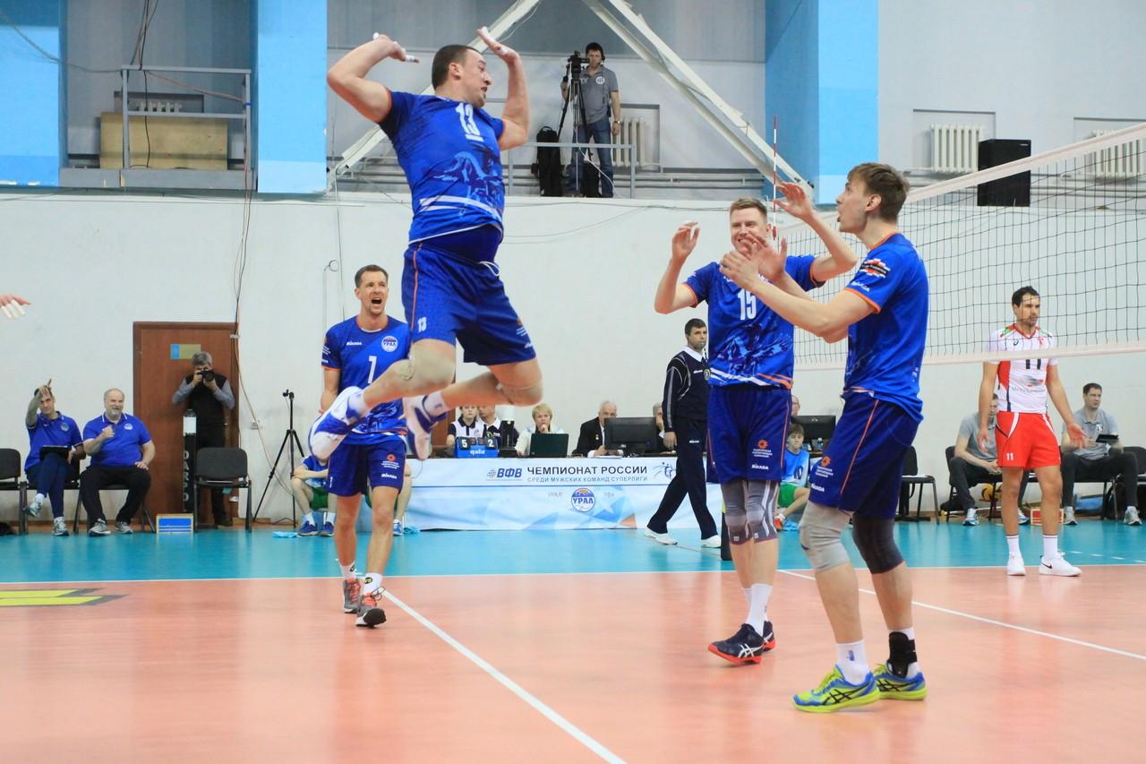 Волейбольный клуб «Урал» обыграл «Белогорье»