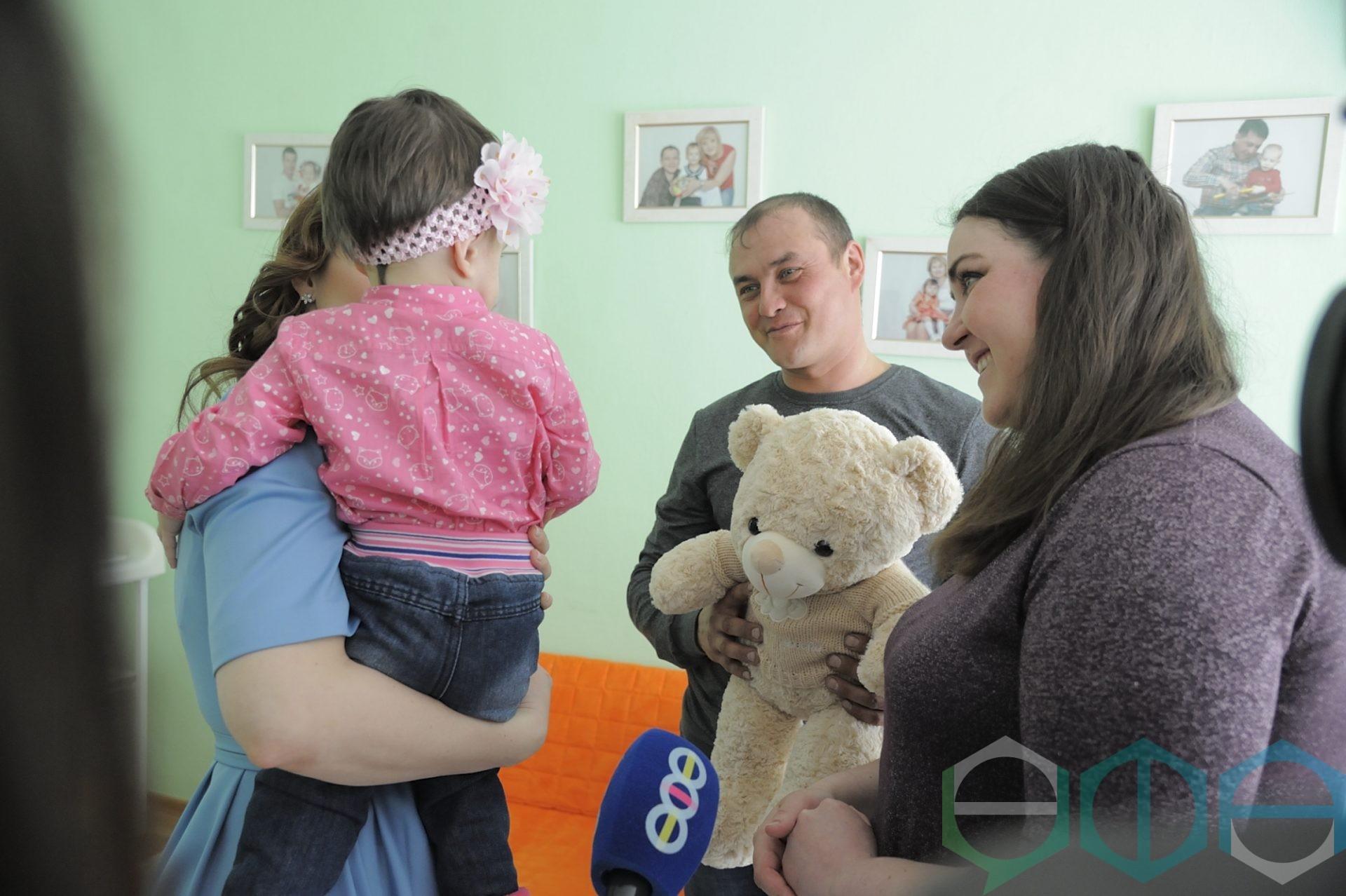 Девочка из Дома ребенка обрела приемную семью