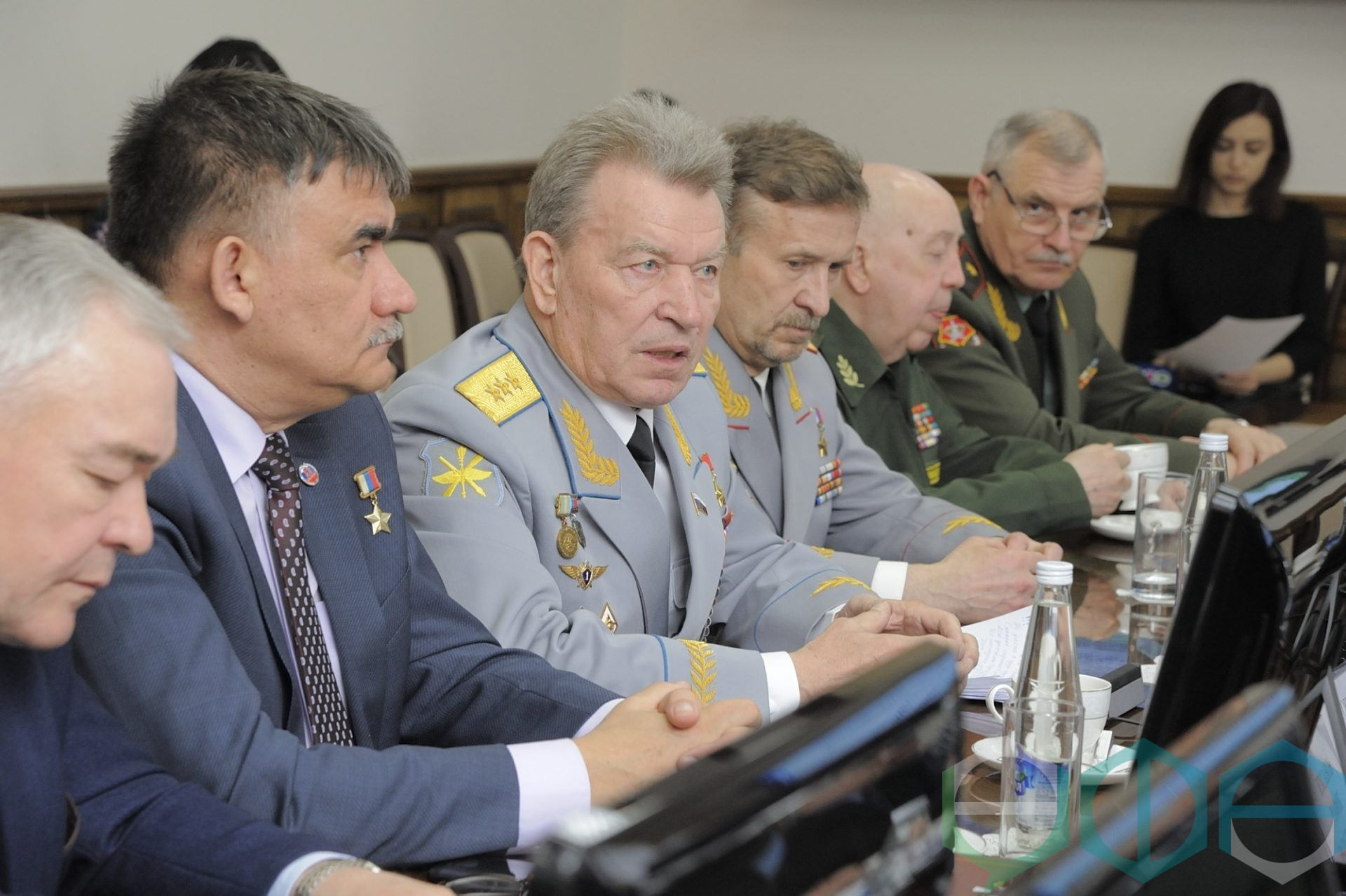 В муниципалитете прошла встреча с членами Клуба Героев России