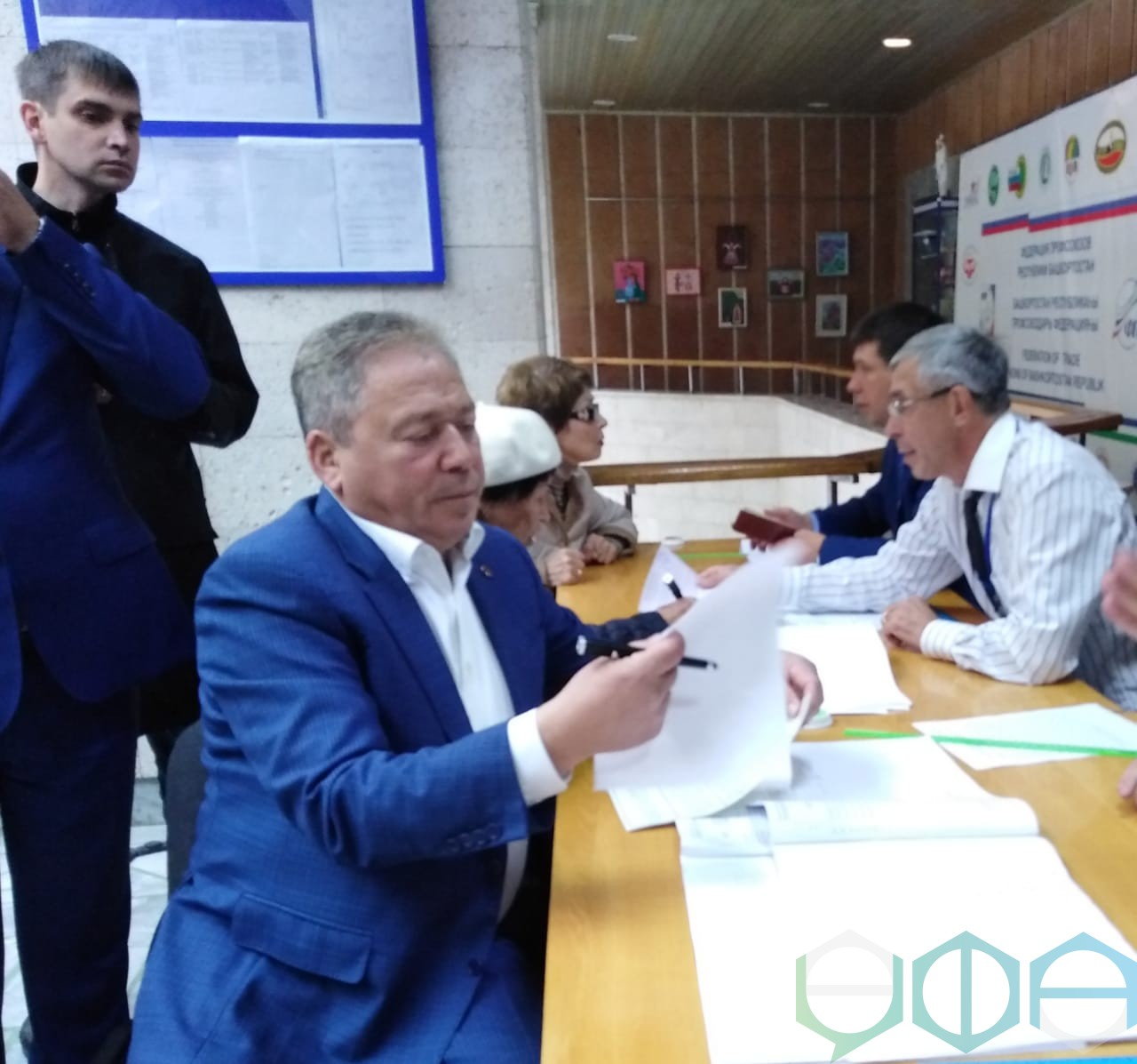 Ульфат Мустафин принял участие в выборах