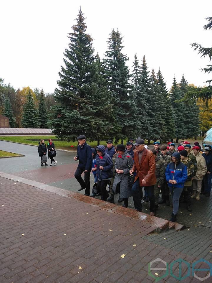 12 октября в Республиканском музее Боевой Славы состоялась церемония передачи останков двух воинов, погибших в годы Великой Отечественной войны и найденных поисковыми отрядами России, для захоронения на родине