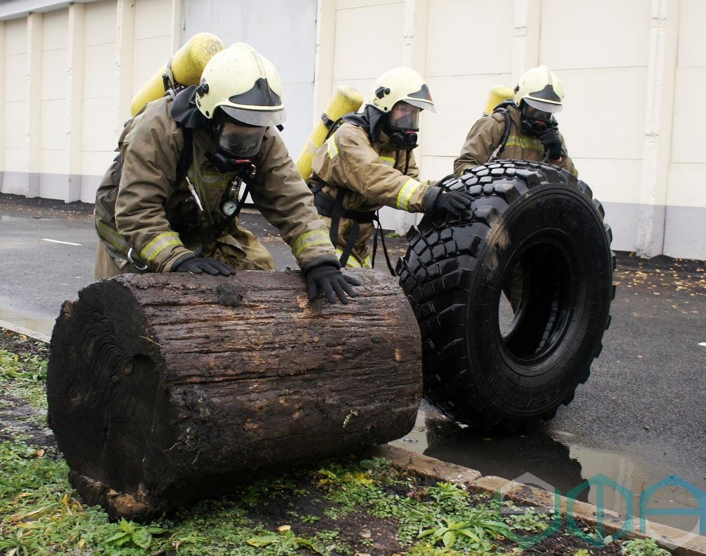 Сотрудники Поисково-спасательного отряда г. Уфы стали победителями республиканских соревнований по многоборью спасателей