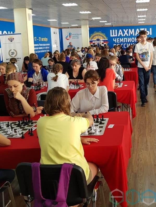 Башкирские шахматисты показали класс на чемпионате России!