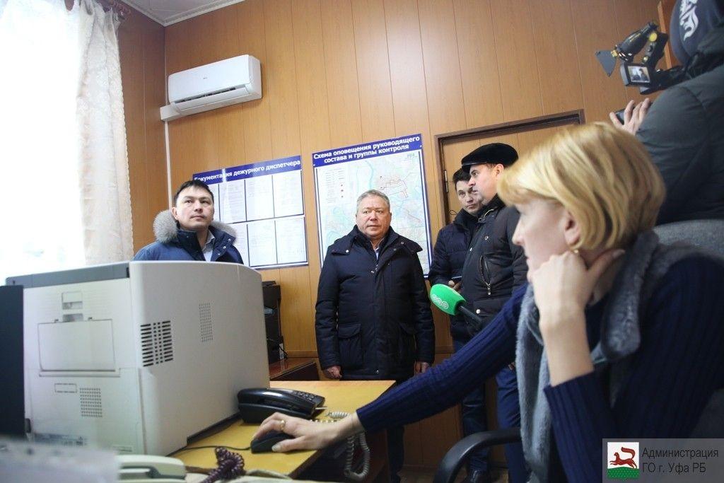 Ульфат Мустафин посетил Уфимское пассажирское автотранспортное предприятие №1