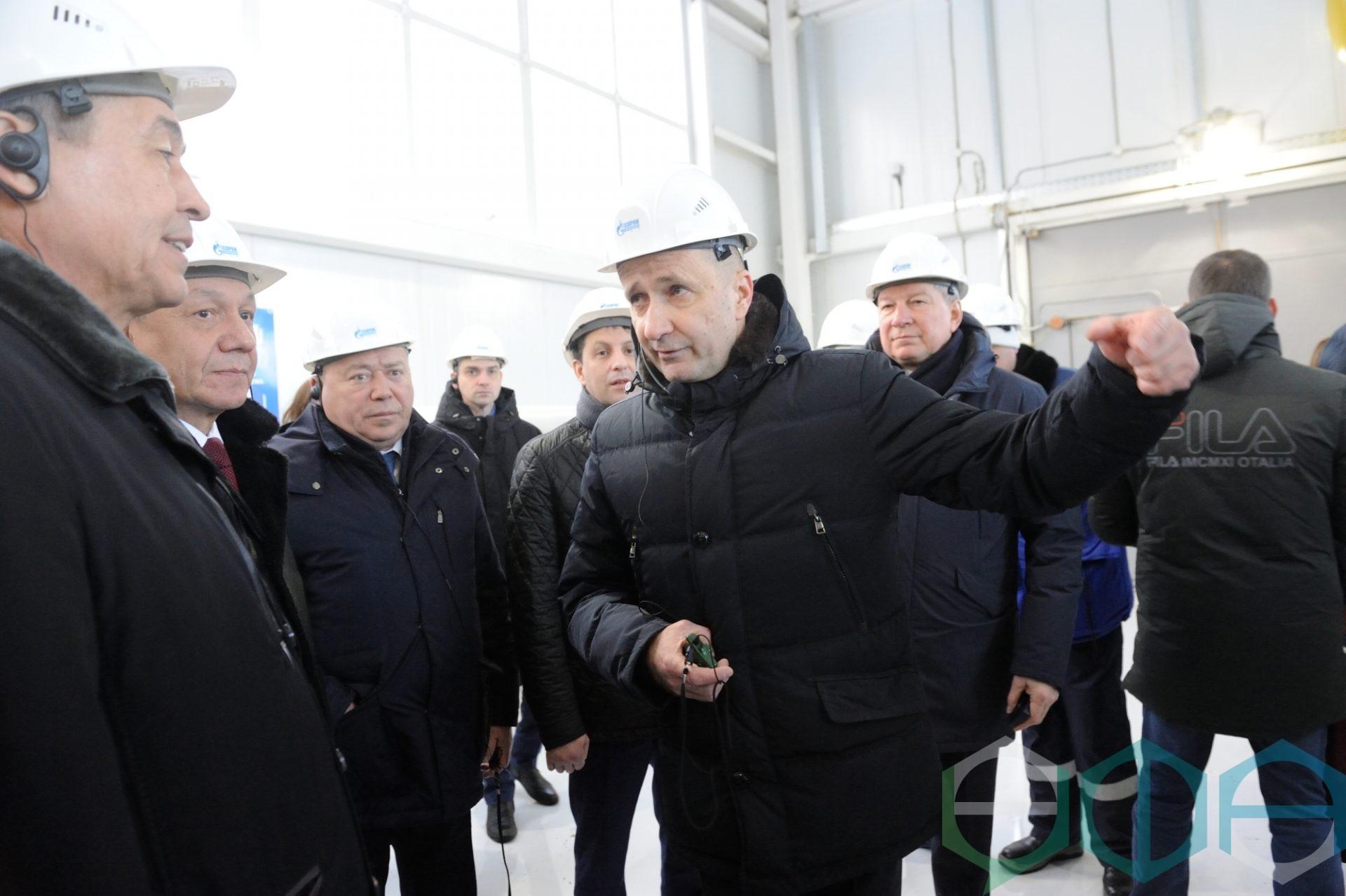 Ульфат Мустафин и Юрий Пахомовский посетили новый головной газорегуляторный пункт «Нижегородка»