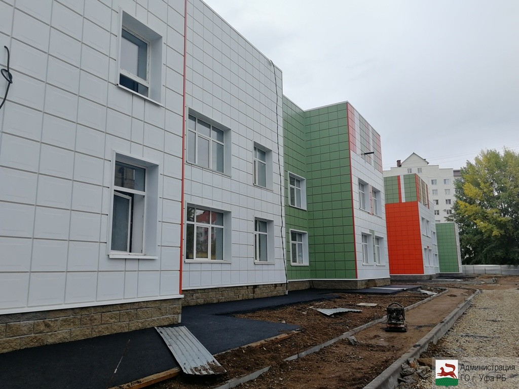 В Сипайлово строятся новые детские сады