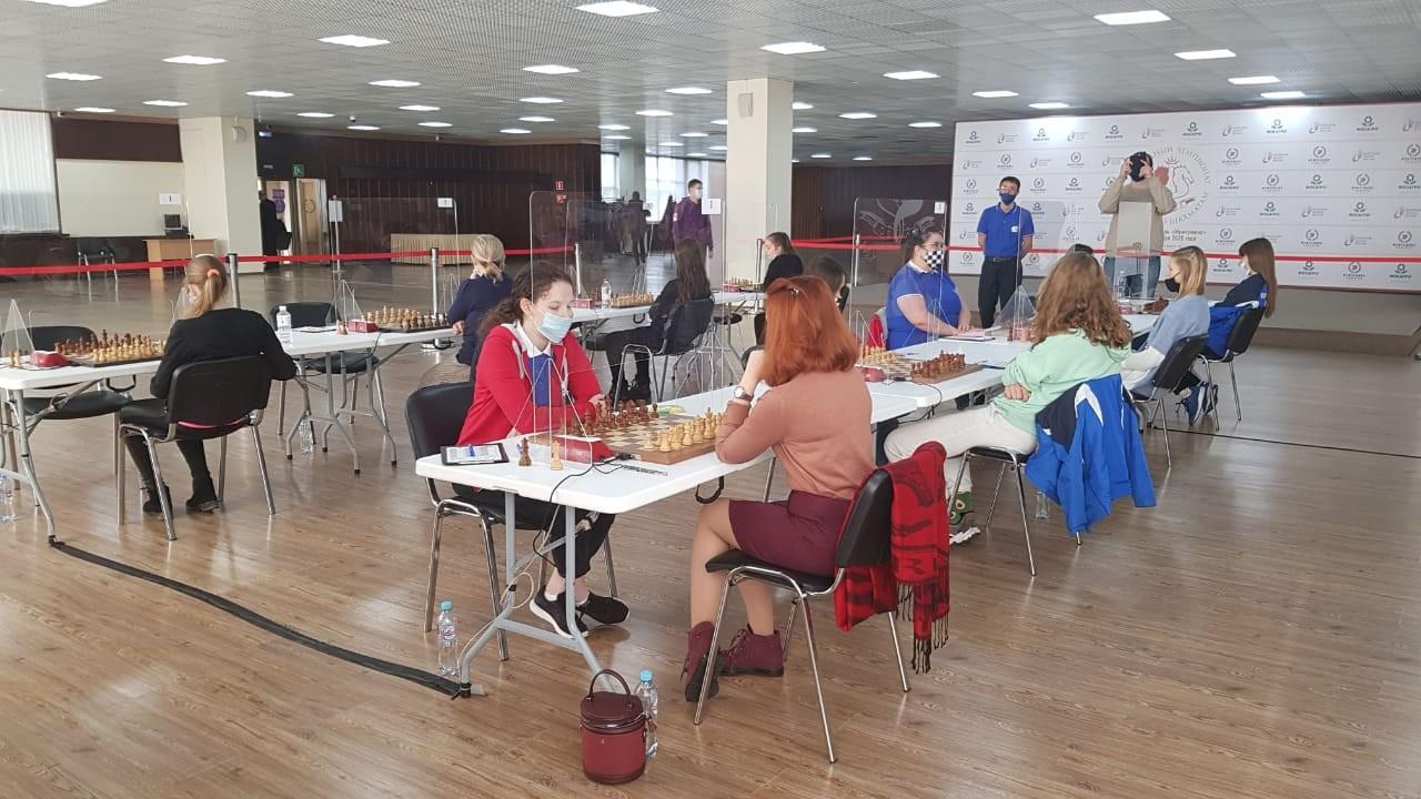 Шахматистки Уфимского«Толпара» стартовали в высшей лиге чемпионата страны