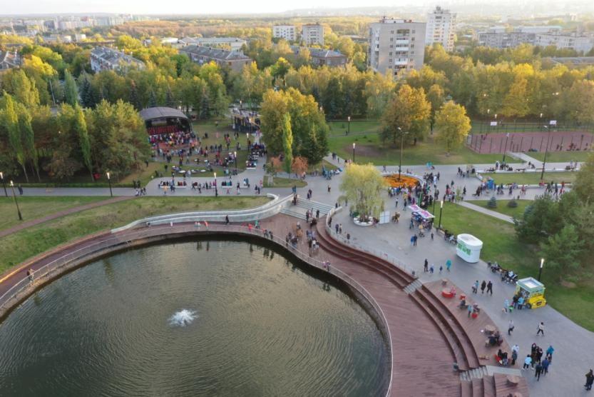 """В Уфе отметили юбилей парка """"Первомайский"""""""