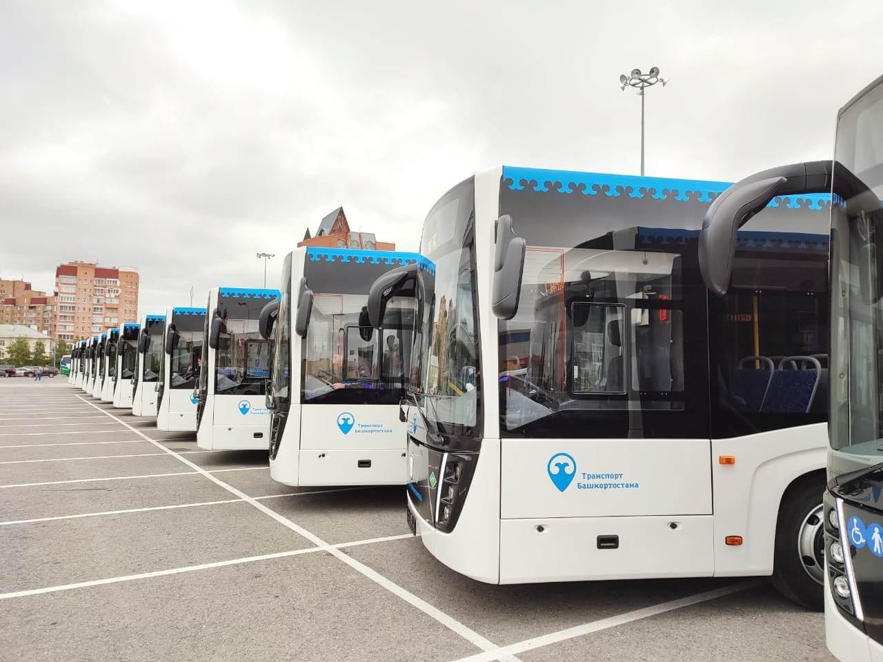 На маршруты Уфы выйдут новые автобусы