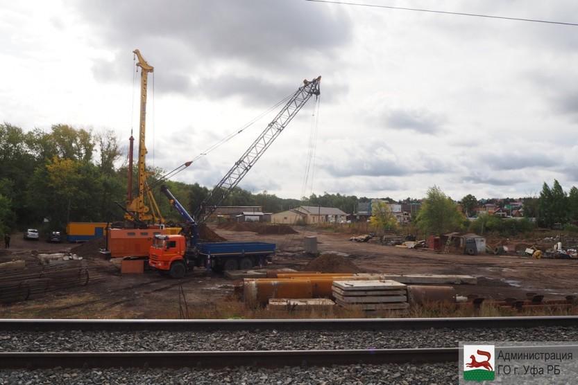 Строительство путепровода вблизи поселка Зинино планируется завершить в 2023 году